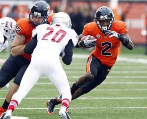 No. 16 Oregon St trounces Nicholls St 77-3