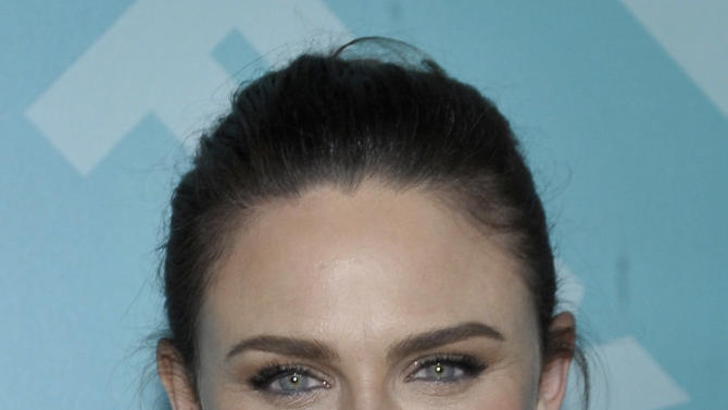 Actress Emily Deschanel arrives at the 2013 FOX Programming Presentation Post Party at Wollman Rink in Central Park on Monday, May 13, 2013 in New York, New York. (Photo by Andrew Marks/Invision for FOX/AP Images)
