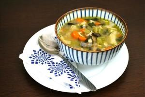 Chicken and Veggie Noodle Soup