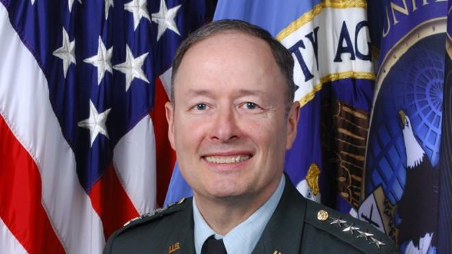 The official portrait of NSA Director Keith B. Alexander, taken in May 2010.