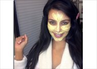 Kim's Yellow Make Up