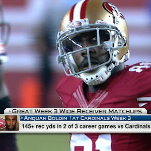 'NFL Fantasy LIVE': Week 3 great wide receiver matchups