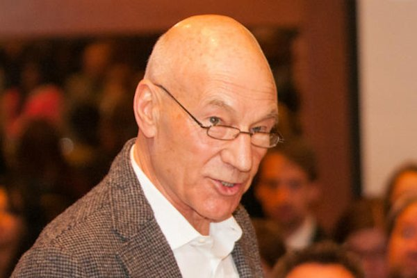 Sir Patrick Stewart calls on 'one million men' to end to violence against women