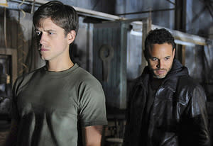 Aaron Tveit, Daniel Sunjata | Photo Credits: Jeff Daly/USA Network