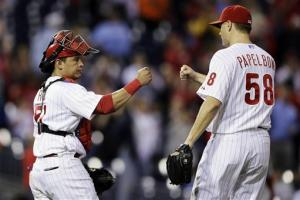 Ruf hits first career homer, Phils beat Nats