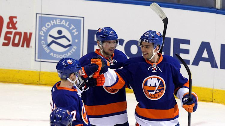 NHL: Winnipeg Jets at New York Islanders