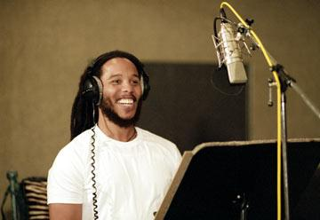 Ziggy Marley does the voice of Ernie in Dreamworks' Shark Tale