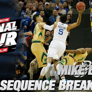 ND's Mike Brey Breaks Down Final Sequence vs Kentucky | ACC Road to Indy