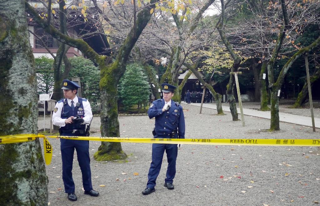 Explosion hits controversial Tokyo war shrine, no injuries
