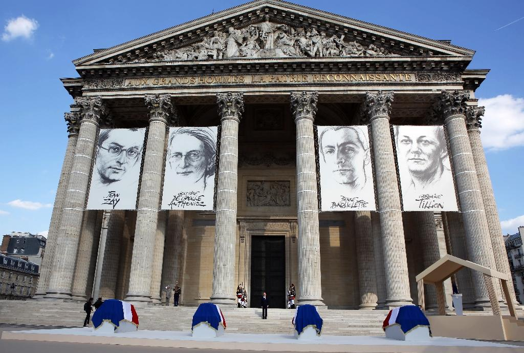 France honours four Resistance fighters among Pantheon heroes