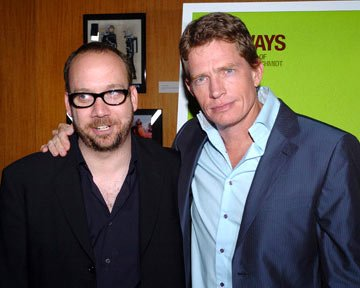 Paul Giamatti and Thomas Haden Church at the Beverly Hills premiere of Fox Searchlight's Sideways