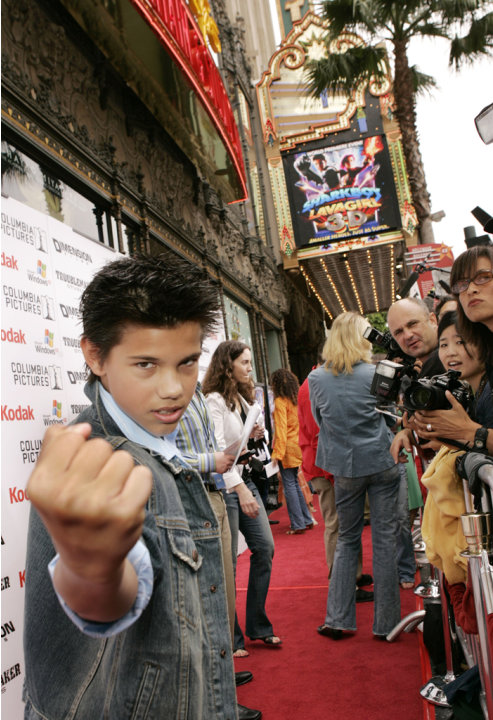 Taylor Lautner attends the …