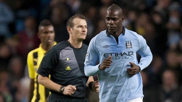 Mario Balotelli Manchester City Borussia Dortmund 2012 AP/LaPresse