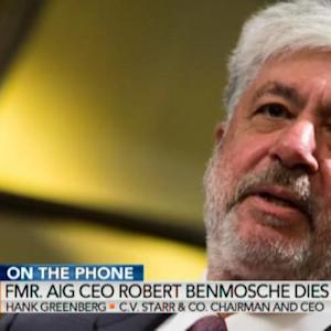 Benmosche Did Outstanding Job at AIG: Hank Greenberg