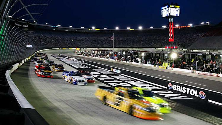 Bristol Camping World Truck Series entry list