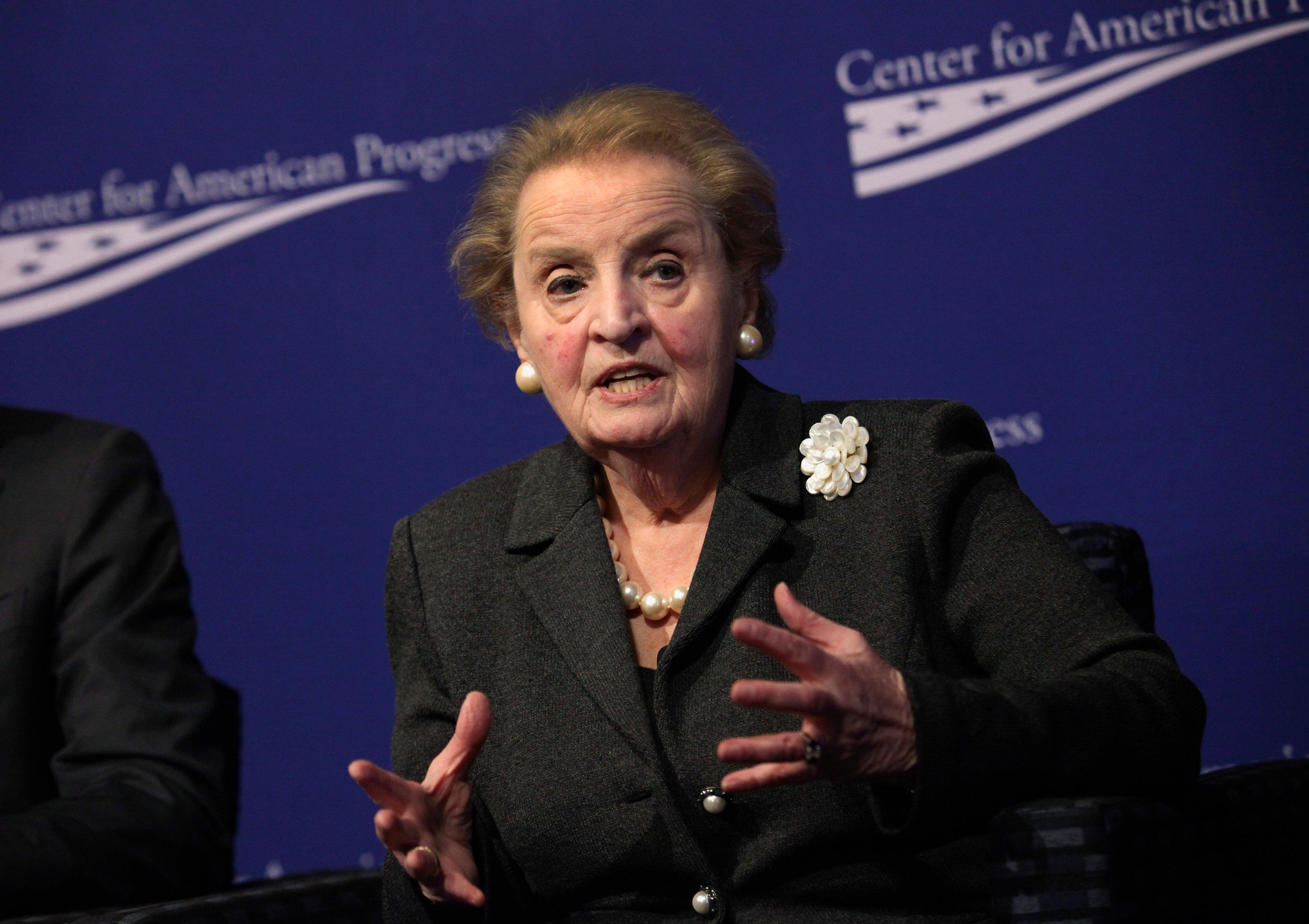 Madeline Albright Hurts Clinton's Campaign — but Not for the Reason You Think