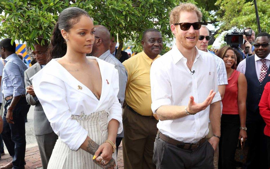 Awkward Things Keep Happening to Prince Harry in the Caribbean
