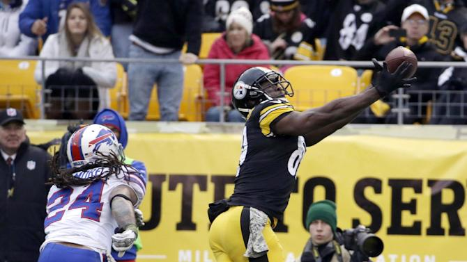 Steelers bounce back, drop sluggish Bills 23-10