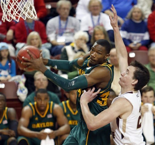 Jackson leads No. 16 Baylor to win over Eagles