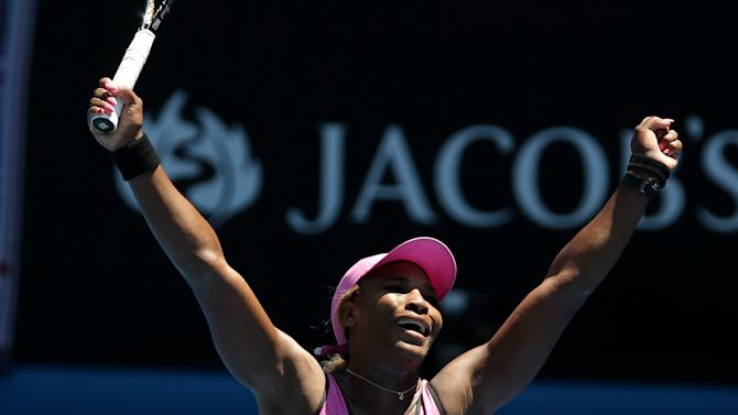 Williams sets Australian mark with 3rd-round win
