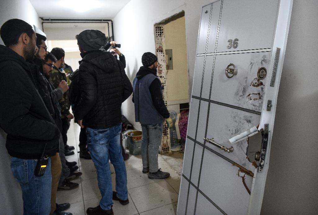 Turkey terror suspect found living in comfy Istanbul flat