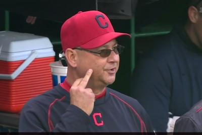 Terry Francona gave NESN the finger on live television ... AGAIN