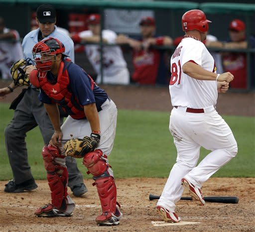 Beckett sharp in Red Sox's 9-3 loss to Cardinals