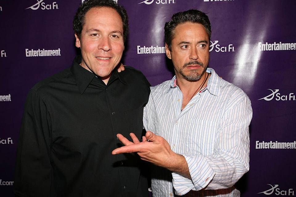 Jon Favreau Robert Downey Jr 2007