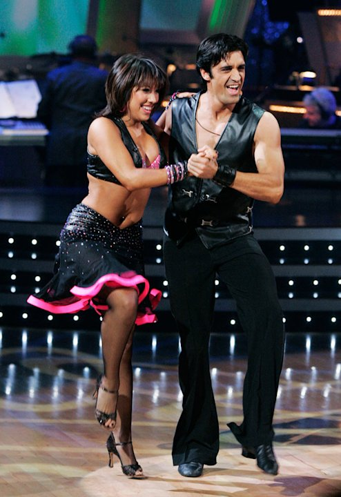 Gilles Marini and Cheryl Burke perform the Jive to &quot;Dance, Dance&quot; by Fall Out Boy on &quot;Dancing with the Stars.&quot; 