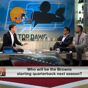 Who starts for the Cleveland Browns in 2015?