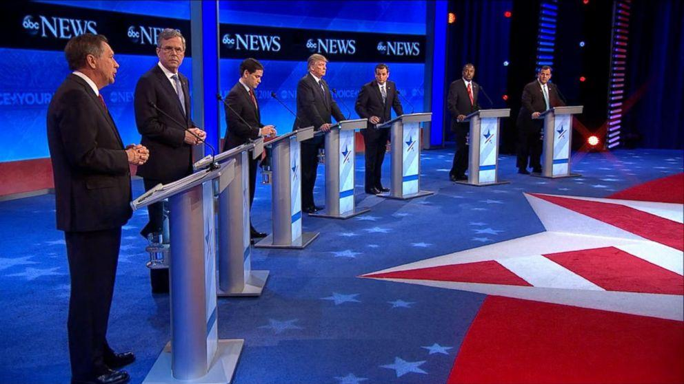 ABC's GOP Debate Wins Saturday, Draws 13.2 Million Viewers