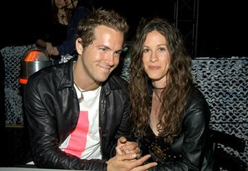 Ryan Reynolds, Alanis Morissette MTV Movie Awards - 5/31/2003