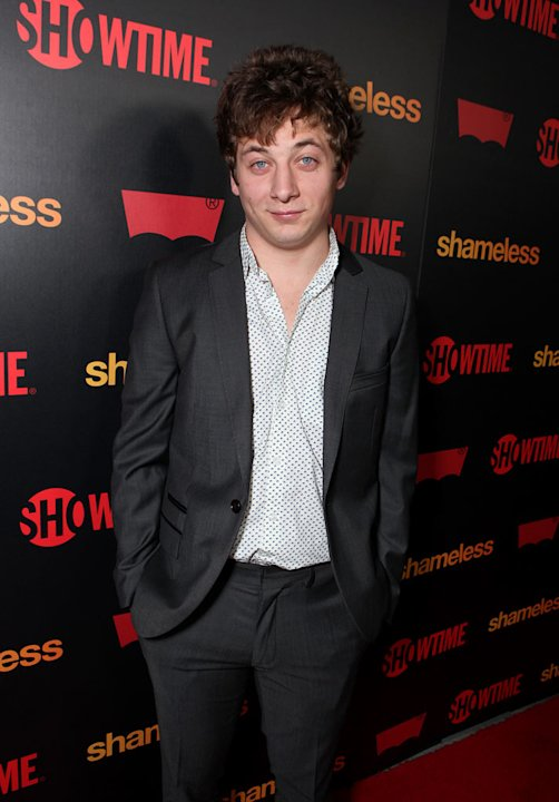 "Jeremy Allen White attends the ""Shameless"" Season 2 Reception at Haus Los Angeles on January 5, 2012 in Los Angeles, California."