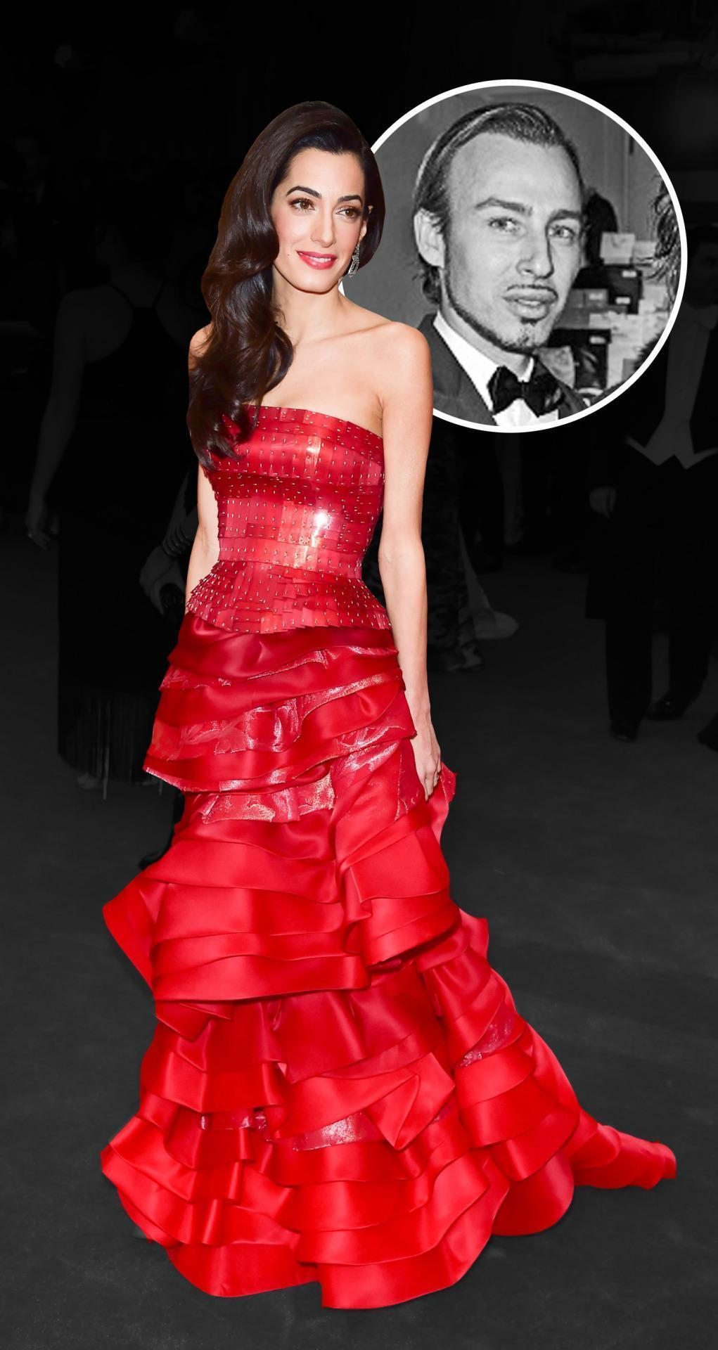 Amal Clooney Does Have a Stylist & He's John Galliano's Partner