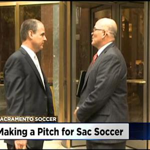 Mayor Johnson, Republic FC President Meet With MLS Execs In New York