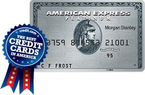 The Platinum Card from American Express  Exclusively for Morgan Stanley