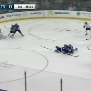 Andrei Vasilevskiy Save on Marcus Foligno (01:29/1st)