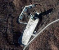 A DigitalGlobe image of the North Korean Sohae Launch Facility on November 26, 2012, shows an increase in activity. South Korea&#39;s top nuclear envoy left for China Thursday for talks on North Korea, shadowed by signs that Pyongyang is preparing an imminent long-range missile test