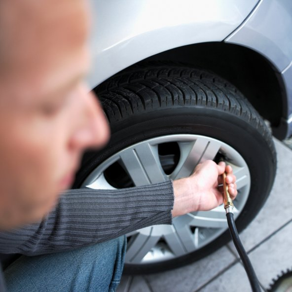 Inflate your tires: