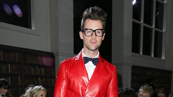 """FILE - This Feb. 10, 2013 file image released by Starpix shows stylist and TV personality Brad Goreski at the Tommy Hilfiger Fall 2013 fashion show during Fashion Week in New York. Goreski stars in the Bravo series, """"It's a Brad, Brad World,"""" airing Wednesdays at 10 p.m. EST. (AP Photo/Starpix, Andrew Toth)"""