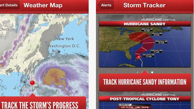 Red Cross' App Helps Sandy Victims