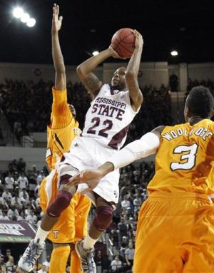 No. 20 Mississippi State beats Tennessee 62-58