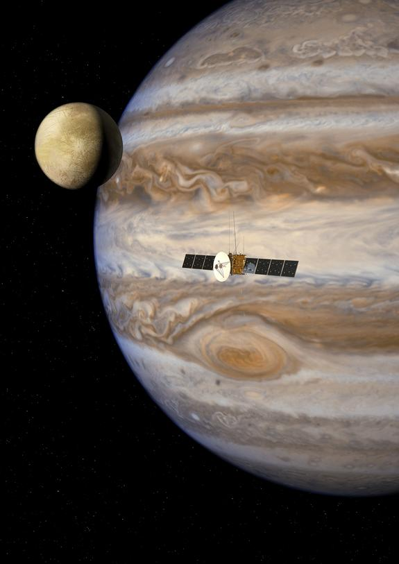 Russia May Land Probe on Jupiter's Moon Ganymede with Europe's Help