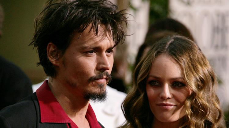 FILE: Johnny Depp And Vanessa Paradis Separate