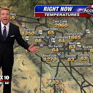 Weatherman Keeps Cool During Hot Forecast Blooper