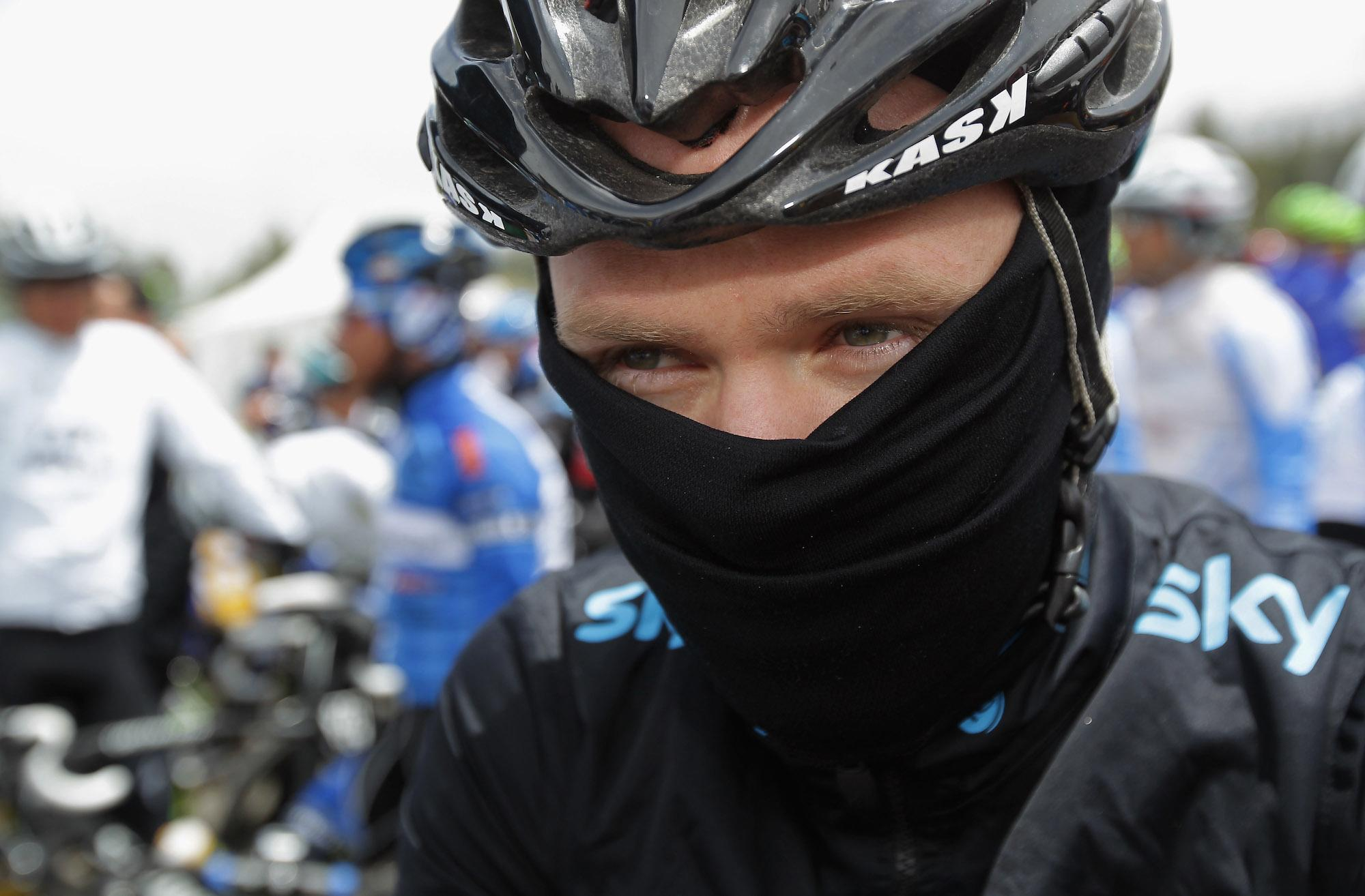 The smartest career move that Tour de France winner Chris Froome ever made was posing as someone else