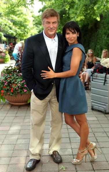 "Hilaria Thomas and Alec Baldwin: ""We got married"""