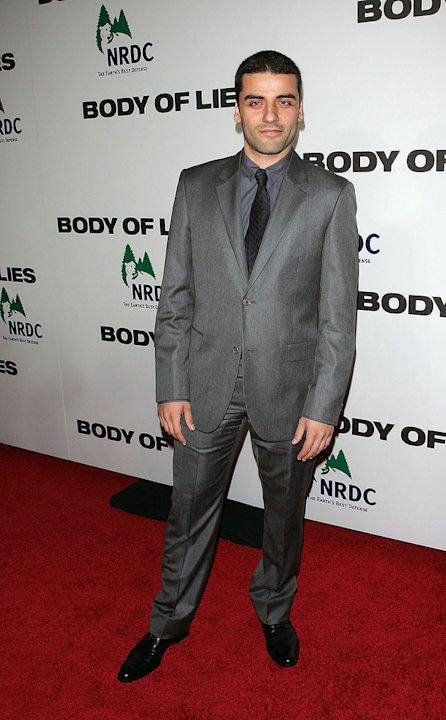 Body of Lies 2008 NY Premiere Oscar Isaac