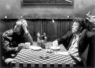 Iggy Pop and Tom Waits in United Artists' Coffee and Cigarettes
