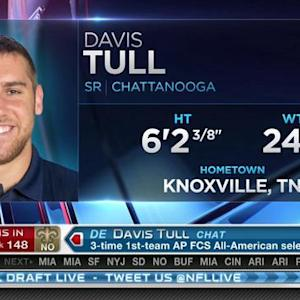 New Orleans Saints pick defensive end Davis Tull No. 148 in 2015 NFL Draft